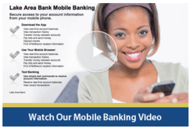 Video for Mobile Banking
