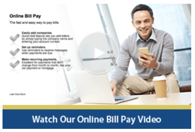 Video for Online Billpay