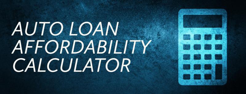 Auto Loan Affordability Calculator Minnesota