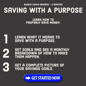 Saving With A Purpose